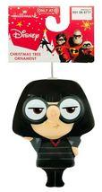 Hallmark The Incredibles 2 Edna Mode Christmas Decoupage Shatterproof Ornament image 3