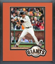 Kelby Tomlinson 2016 San Francisco Giants- 11 x 14 Team Logo Matted/Framed Photo - $42.95