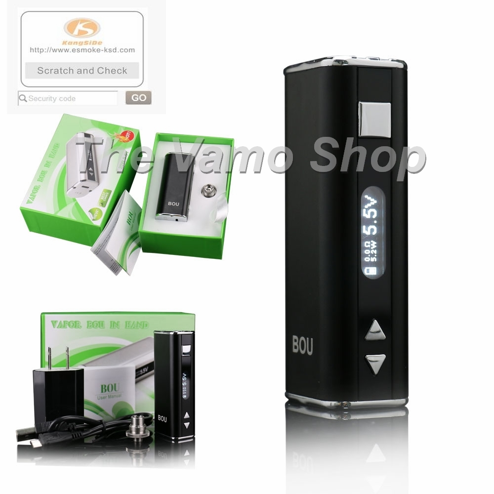 Primary image for Black KSD BOU 30 Watt APV Box Mod - with Charger Kit - Genuine Kangside Quality