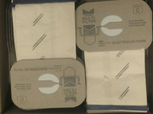 24 Bags for Electrolux Canister Vacuum Style C ~ 4 Ply Made IN USA !!