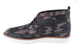 WeSc Lawrence Mid Top in Walnut Camo Leather mid top Shoes NIB image 4