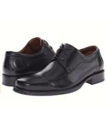 Johnston & Murphy Men's Dobson Cap Toe Lace Up Oxfords Black   - $80.00