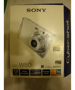 Sony Cybershot DSCW80 7.2MP Digital Camera with 3x Optical Zoom and Supe... - $35.00