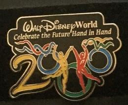 Walt Disney World 2000 Pin Brooch Celebrate The Future New Jewelry Collectible - $7.91