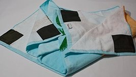 Sand Secured Outdoor Towel Set: One1 Starfish Design & One1 Palm Tree Design, 2  image 3