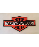 Harley Davidson Motorcycle Patch Iron On Applique - $10.00