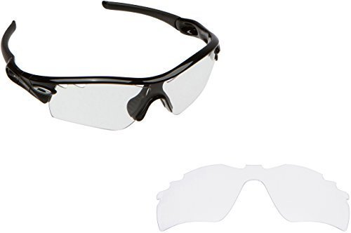 Primary image for New SEEK OPTICS Replacement Lenses Oakley VENTED RADAR PATH - Clear
