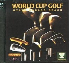World Cup Golf: Hyatt Dorado Beach (2 CDs, 1994) for DOS - NEW CD in SLEEVE - $7.98