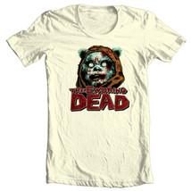 EWOKING DEAD T shirt The Walking Dead Star Wars Ewoks Sci Fi Horror Zombie tee image 2