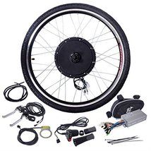 "26"" 48V 1000W Ebike Front Wheel Electric Bicycle Motor Conversion Kit Mo... - $192.99"