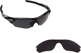 New Seek Optics Replacement Lenses Oakley Radarlock Edge   Polarized Black - $24.24