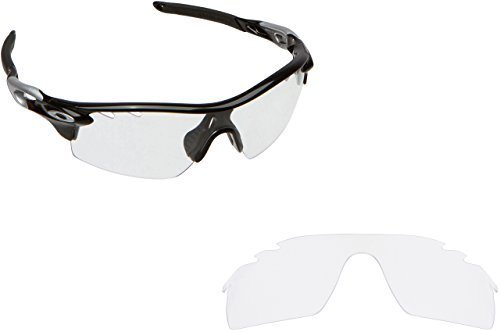 New SEEK OPTICS Replacement Lenses Oakley VENTED RADARLOCK PITCH - Clear
