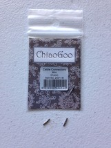 New ChiaoGoo MINI Interchangeable Cable Connectors MPN 2501-M - $2.50