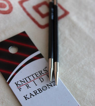 Knitters Pride Karbonz 4 1/2 inch Interchangeable Knitting Needle Tips M... - $19.45 CAD+