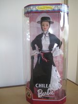 1998 CHILEAN Barbie DOLLS OF THE WORLD Collector Edition NEW in Box #18559 - $19.99