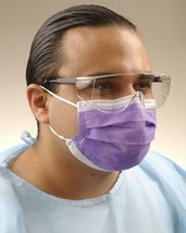 CROSSTEX ISOFLUID EARLOOP MASK Mask, Latex Free, Lavender, 50/bx, 10 bx/ctn - $147.00