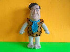 Vintage Fred Flintstone Plush Doll 1993 Mattel Vinyl Head EUC Ship Fast - $9.99