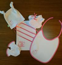 Organic Newborn Baby Girls Pink 5 Piece Set - $23.00