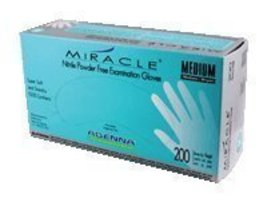 Adenna MIR166 Miracle Nitrile PF Exam Gloves, Large, 200 Count (Pack of 10) - $115.15