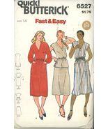 Vintage 80s Butterick 6527 Pattern, Misses Dress, Tunic & Skirt, Size 14... - $5.50