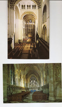 POSTCARDS - St Albans Cathedral and Abbey Church Interior Views  UK - $2.38