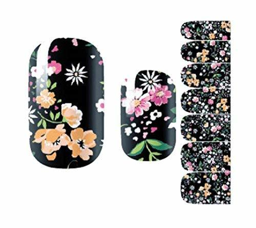 Creative Fashionable Green Nail Stickers Nail Decoration, Multi Flower