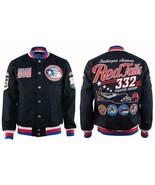 Tuskegee Airmen Twill Jacket Red Tails - $129.00