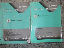 1997 Gm Oem Buick Park Avenue Workshop Service Shop Repair Manual Set Factory - $87.10