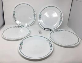 """Set of 5 Corelle USA """"Rosemarie"""" Tulip Dinner Plates - 10 1/4"""" Diameter !! - $19.99"""