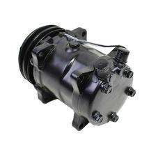 A-Team Performance Sanden 508 Style Black Clutch V-Belt A/C Compressor, Black image 4