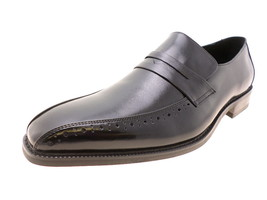 Stacy Adams Butler Mens Penny Loafers 20136-001 Black Size 8.5 W - $44.20 CAD