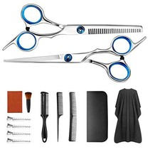 13 PCS Hair Cutting Scissors Kit Professional Hair Trimming Set,with Cutting Sci