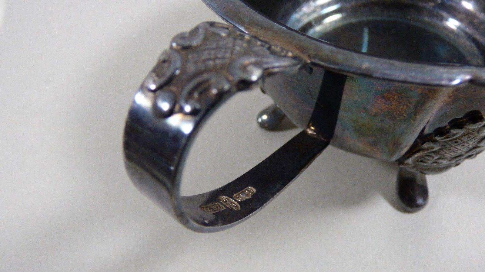 Vintage G P N220  Silver Plate footed  Sugar bowl