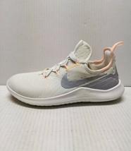Nike Free TR 8 Rise Women's Training Running Size 8.5 (M) White/Peach AH8183-100 - $59.39