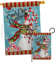 Candy Cane Christmas - Impressions Decorative Flags Set S114205-BO - $57.97