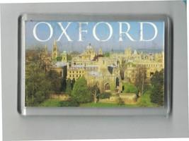Oxford from the East Fridge Magnet Souvenir M002 Chris Donaghue United K... - $4.94