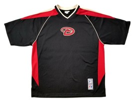 Majestic Arizona Diamondbacks Baseball Jersey Mens Size L Pull Over MLB ... - $18.69