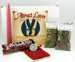 Attract Lover boxed ritual spell kit - $23.99