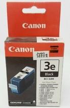 Canon BCI-3eBK 3e Black Genuine Printer Ink Tank Cartridge New Open Box Expired? - $3.90