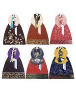 Character One Hanbok Pocket Bag Set of 6 FB302 - $36.04