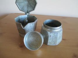 VTG ALUMINUM MORENITA ESPRESSO COFFEE MAKER, MADE IN ITALY image 2