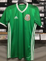 Adidas Mexico Home Jersey Green And White Size Medium  Only - $74.80