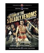 RETURN OF TH5 DEADLY VENOMS(SHAW BROTHERS CLASSIC COLLECTION) DRAGON DYN... - $10.88