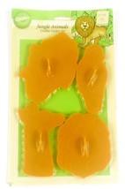 Wilton's 1994 Jungle Animal Cookie Cutter Set NIP Lion Giraffe Elephant ... - $9.89