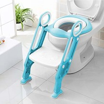 BAMNY Potty Training Toilet Seat with Step Stool for Kids Toddler's Pott... - $28.07