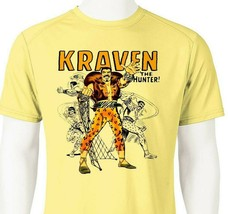 Kraven Hunter Dri Fit graphic Tshirt moisture wicking superhero comic SPF tee image 1