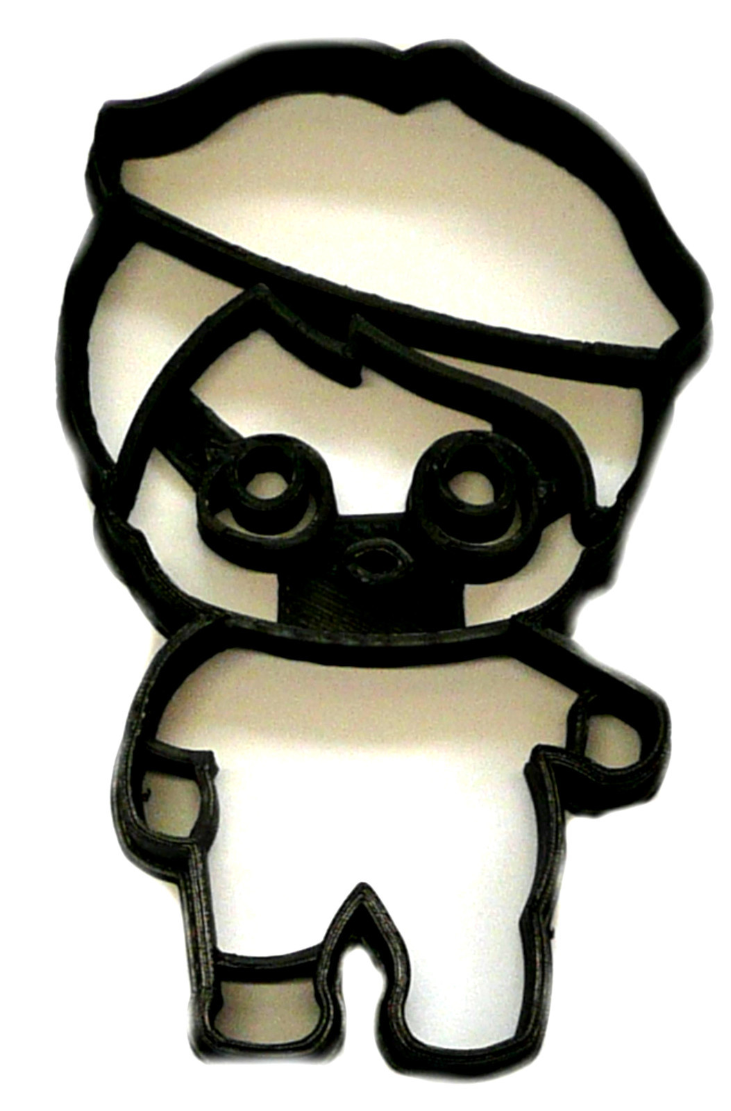 beatnik babe black beret surprise doll series cookie cutter usa pr2511