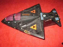1986 Coleco Starcom Vehicle: Shadowbat, - base vehicle, no attachments - $25.00