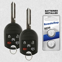 2 For 2011 2012 Ford Focus Fusion Keyless Entry Uncut Car Remote Start K... - $26.62
