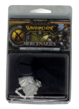 Warmachine Mercenaries Gorman di Wulfe Rogue Alchemist Steel Miniature Sealed - $12.86